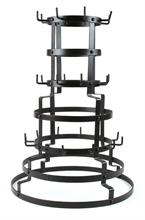 HC3 Arbre à tasses metal noir - 43x43x63cm #