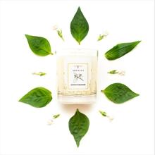 Bougie parfumée - Jardin du Monde - J méditerranéen - Fleur d'oranger 45h - 180g