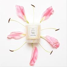 Bougie parfumée - Jardin du Monde - Jardin Zen - Fleur de cerisier - 45h - 180g