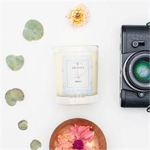 Bougie parfumée - Jardin rêvé - Jardin secret - Néroli - 45h - 180g