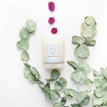 Bougie parfumée - Jardin rêvé - J. des délices - Framboise caramel - 45h - 180g