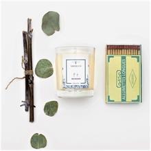 Bougie parfumée - Jardin en hiver - Feu de bois - 45h - 180g