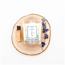 Bougie parfumée - Jardin en hiver - Bois - 45h - 180g