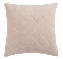 KAAT Coussin Vercors Rose pâle  - 43x43cm - 100% velours