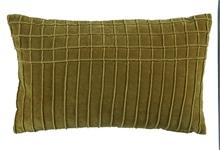 KAAT Coussin Aura Vert  - 30x50cm - 100% velours