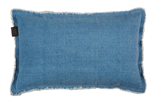 KAAT Coussin Sahara Bleu  - 30x50cm - 100% coton