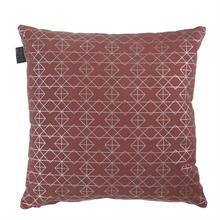 KAAT Coussin Ipala Rouge  45x45 - 100% coton