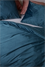 ATH Parure Tender Velours Bleu - 140x200+70x60 - SS20 Taille Hollandaise