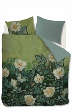 VG Parure Van Gogh -Roses sauvages vert- 260x240+2.70x60 - SS20 Taille Hollandai