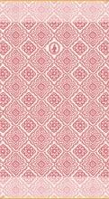 PIP - LM Drap de bain Jacquard Check Rose foncé - 70x140 - SS20