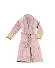 PIP - LM Peignoir Jacquard Check Rose - M - SS20