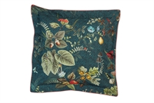 PIP - LM Coussin carré Fall In Leaf Bleu nuit - 45x45 - AW20