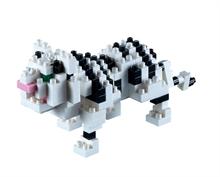 Animaux - Tigre blanc - Niv. 2 - Polybag zip L