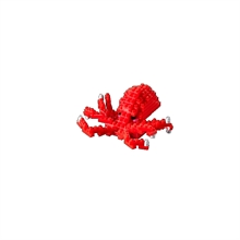 Animaux - Pieuvre - Niv. 1 - Polybag zip S