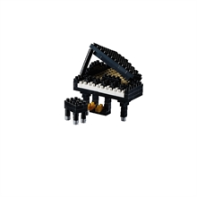 Instruments - Piano noir - Niv. 2 - Polybag zip M