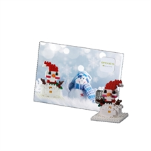 Cartes postales - Bonhomme de neige - Niv. 1 - Polybag