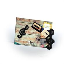 Cartes postales - Clé de sol - Niv. 1 - Polybag