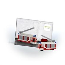 Cartes postales - Camion de pompier - Niv. 1 - Polybag