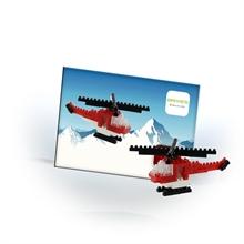 Cartes postales - Helicoptère - Niv. 1 - Polybag