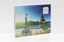 Cartes postales - Tour Eiffel - Niv. 1 - Polybag