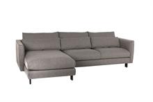 Canapé lounge angle gauche Parma Gris - 274x167x89cm