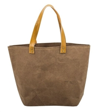 HC3 BXNB Sac shopping papier kraft Marron foncé#