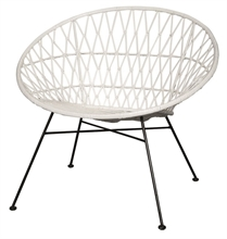 HC BXNB Chaise lounge Talia Blanc - 74x87x78cm TPS30_2%#