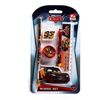 Set de 5 pcs de papeterie Cars