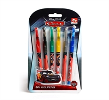 6 stylos Cars