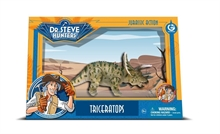 GW Jurassic Action - Figurine amovible - Triceratops