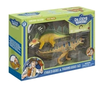 GW Collection Dinosaures - Duo pack - Tyranosaure & Styracosaurus