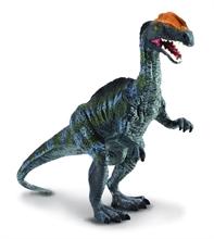 Figurine - Dilophosaurus bleu - L