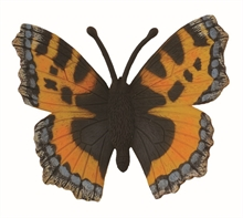 Figurine - Petite tortue (papillon) - M
