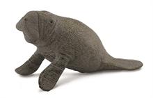 A. des mers - Bébé lamantin assis - M
