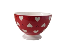 Bol talon Bols and Co Coeur Rouge - 14,5cm