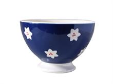 HC5 DSH Bol talon Bols & Co Fleur Bleu marine - 14.5cm #