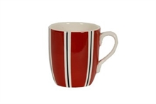 HC1 DSH Grand Mug Bols & Co Rayures Rouge - 30cl#