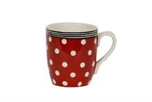 HC5 DSH Grand Mug Bols & Co Pois Rouge- 30cl #