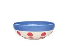 HC4 DSH Bol à céréales Reverso Rouge int. bleu gitane  - 16,5cm #