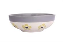 DSH Bol à céréales Flore Curry int. gris  - 16,5cm