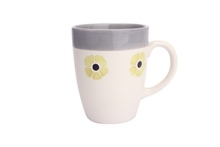 HC4 DSH Grand Mug Flore Curry int. gris - 30cl #