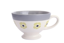 HC4 DSH Tasse jumbo Flore Curry int. gris - 63cl #