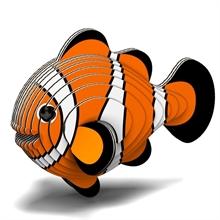 Puzzle 3D Eco - A. des mers - Poisson clown