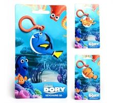 Porte-clés 3D Dory 3 modèles assortis 12 pièces