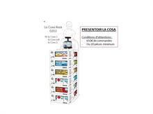 Display en carton - La Cosa