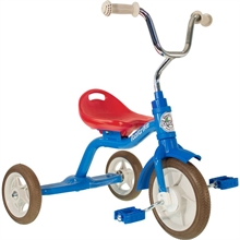 ''10'' Tricycle Super Touring Colorama - Bleu - 2/5 ans''