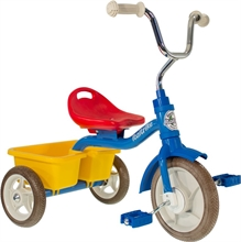 ''10'' Tricycle Transporter Colorama - Bleu - 2/5 ans''