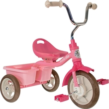 ''10'' Tricycle Transporter Rose Garden - Rose - 2/5 ans''
