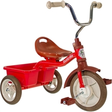 ''10'' Transporter Tricycle Champion - Rouge - 2/5 ans''