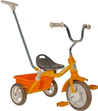 ''10'' Tricycle Passenger Road Work - Orange - 2/5 ans''